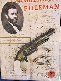 August 1870 The American rifle man  w Grant's pic
