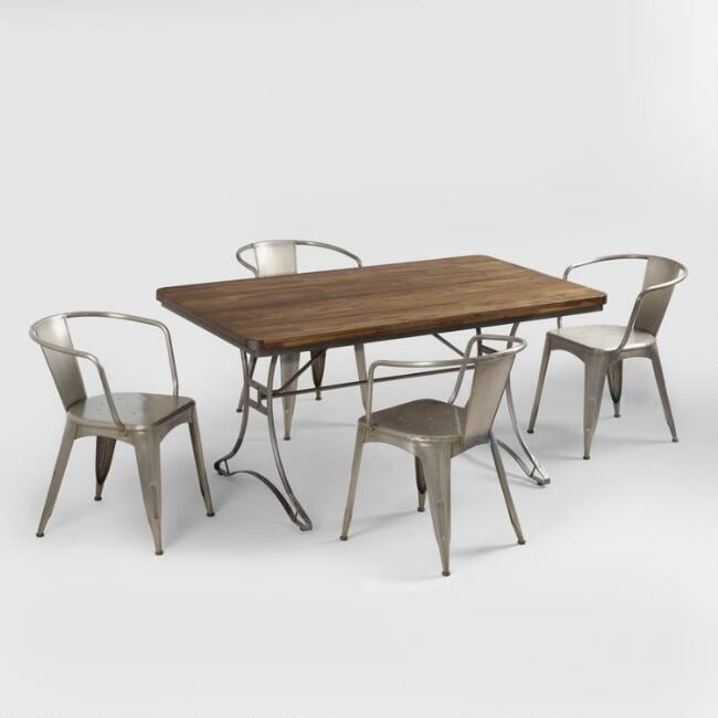 Dining room table. Seats 6
