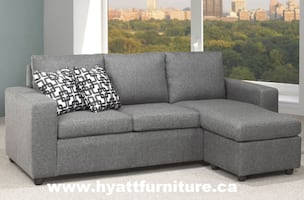 Brand new Compact Fabric Sectional sofa