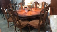 Large octagon dining table set  Saint Petersburg, 33713