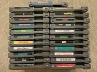 Nintendo nes games $5 each and under Santa Ana, 92701