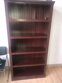 brown wooden 5-layer shelf Winnipeg, R3C