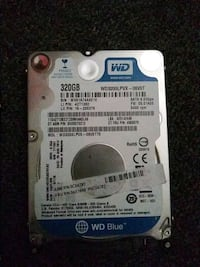 WD 320gb harddrive 6gb/s 5400rpm Houston