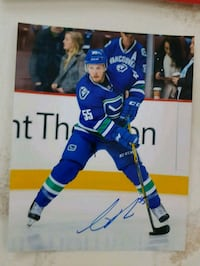 Alex Biega Autographed 8x10 Photo  Edmonton, T6L 2K3