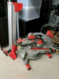 "Milwaukee 12"" Sliding Miter Saw with stand Vaughan, L4H 3M3"