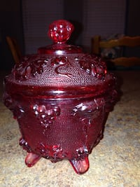 Red candy dish  Nicholasville, 40356
