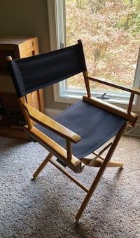 Black Foldable director chair  Manchester, 17345