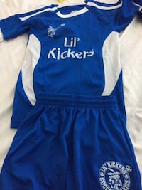 Lil' Kickers Soccer Uniforms Size S and M