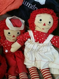 Vintage Raggedy Ann and Andy Henderson, 89014