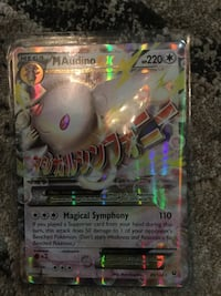 Pokemon MAudino trading card