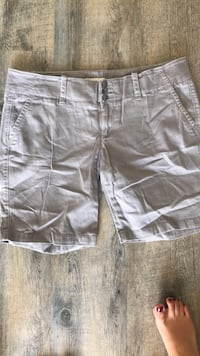 two gray and black cargo shorts Bakersfield, 93313