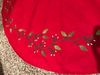 Embroidered Christmas Tree Skirt  Forest Park, 60130