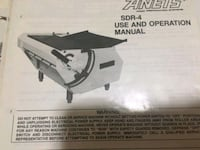 Anets SDR-4 Dough sheeter Del City, 73115