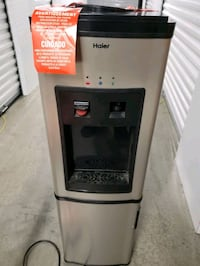 It's free missing button for cold water Haier drinking water cooler