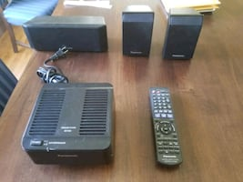 Panasonic Home theater system 5 disk