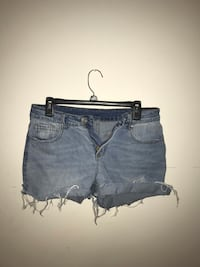 Women's blue denim shorts Bluemont, 20135