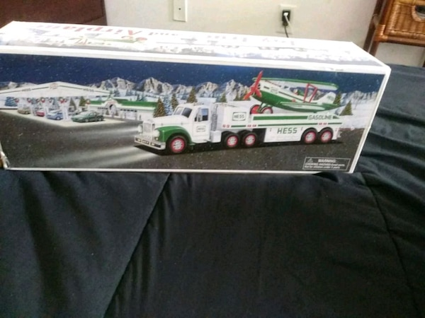 Hess truck toy with box