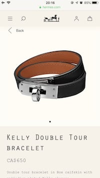 Hermès AUTHENTIC BRAND NEW !!!! Kelly bracelet AUTHENTIC 1000% !!! Cheks are available everywhere!!!!  Toronto