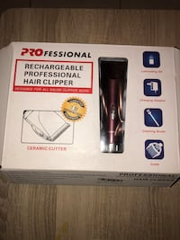 Professional Ceramic Cutter Clippers with attachments. Brand New Phoenix, 85016