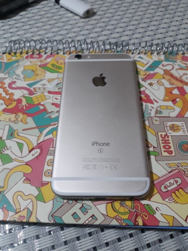 İphone 6s 16 GB GOLD  2