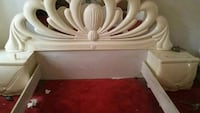 Bed and frame headboard dresser armoire Clothes Cl