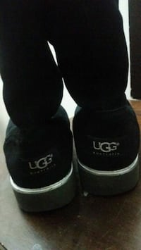 pair of black UGG boots Barrie, L4M 3Z1