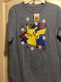 Boys Pikachu ball party shirt  London, N6M 1J4