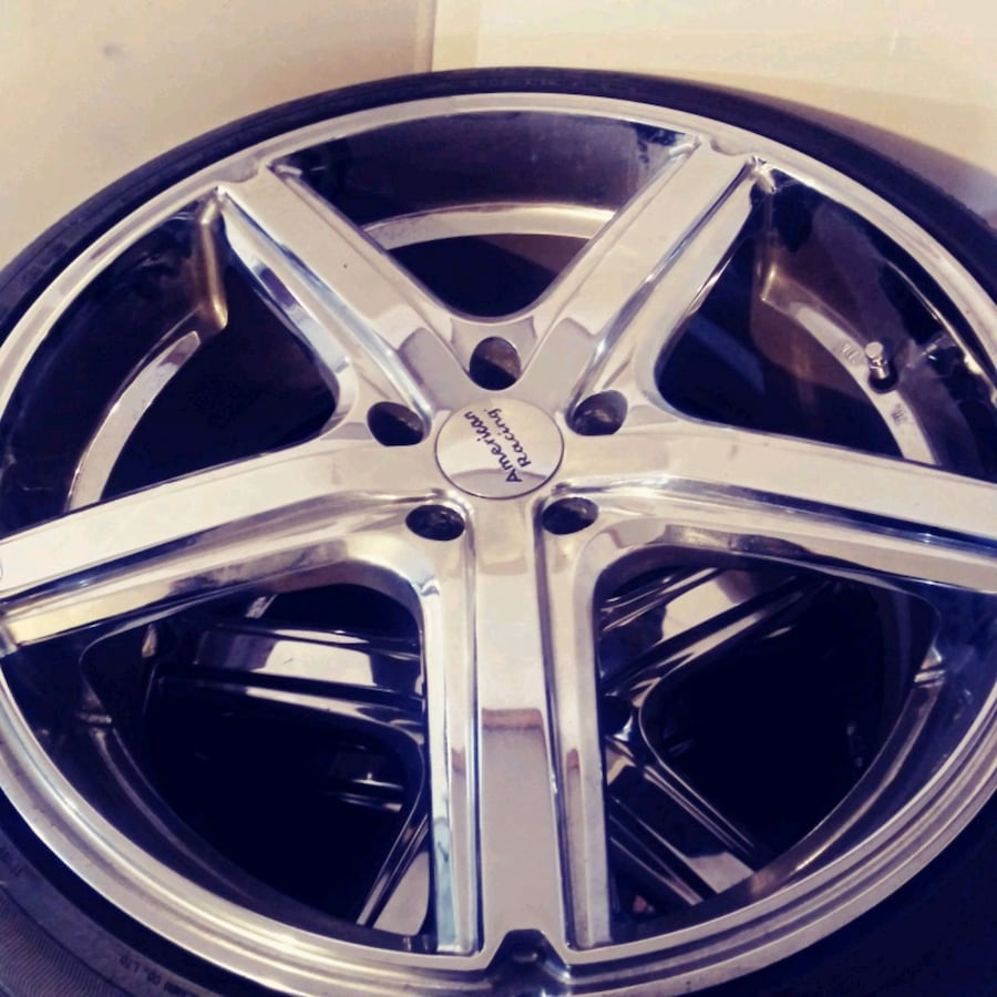 20 inch tires and rims