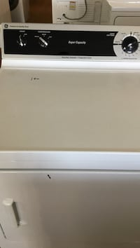 white General Electric front load dryer Cedartown, 30125