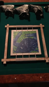 Crab Wooden Picture
