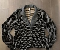 As new ~ free people blazer/jacket size large ~retails $250+