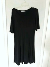 women's black scoop-neck dress Staten Island, 10304