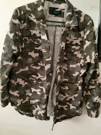 Rue 21 Distressed Army Jacket  Shelbyville, 46176