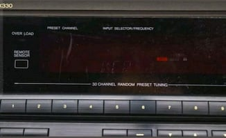Used  stereo receiver