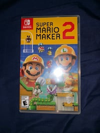 Super Mario Maker 2 Brand New Washington, 20012