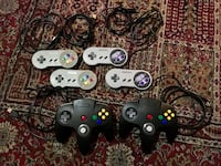SNES and N64 USB controllers Vancouver, V6E 1H8