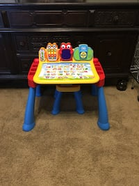 Educational table with chair