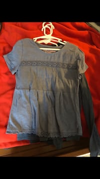 4 Abercrombie shirts size 7/8 Spring, 77388
