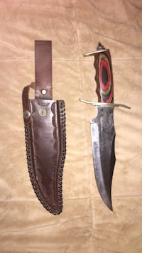 red and black handle dagger with leather sheath Columbus, 43228
