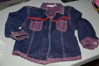 GIRLS JEANS JACKET 12-18MO BABY Mississauga, ON, Canada