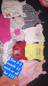 toddler's assorted clothes Jacksonville, 72076