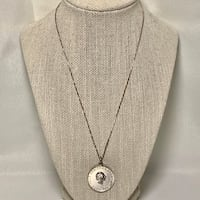 Sterling Silver Hans Christian Pendant Charm with Sterling Chain Ashburn