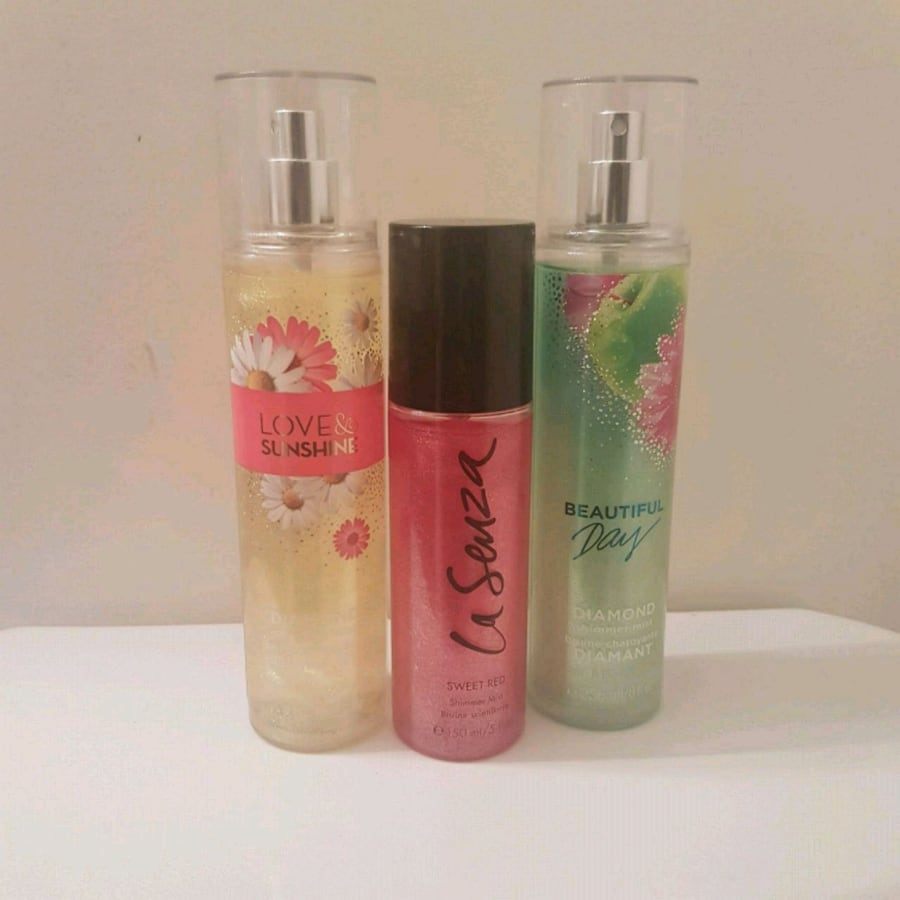 Lasenza / body works spray