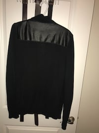 black and white long-sleeved shirt Halifax