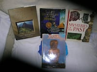 Four (4) Books on Mysterious Places Springfield