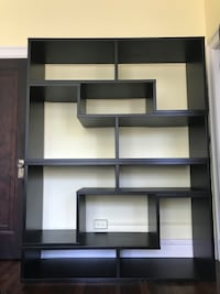 Modern modular solid wood bookshelf $175 or OBO Washington, 20009