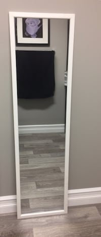 White Framed Mirror Edmonton, T6K 4E1