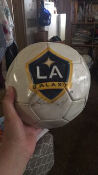 LA Galaxy Soccer Ball With Signatures Bellflower, 90706