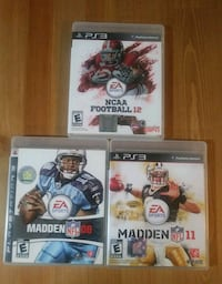 PS3 games NFL  Toronto, M5R 3H3