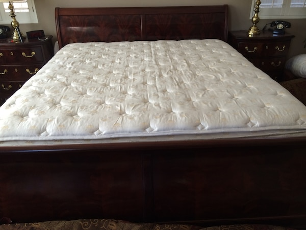 King Size Double Pillow Top Chattam And Wells Mattress